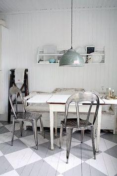 All vintage kitchen