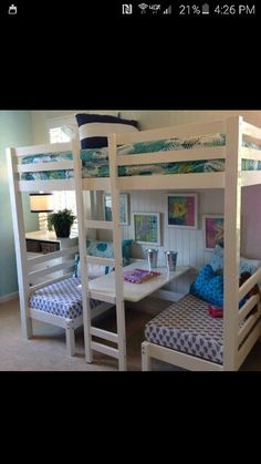 Awesome girls bunk bed