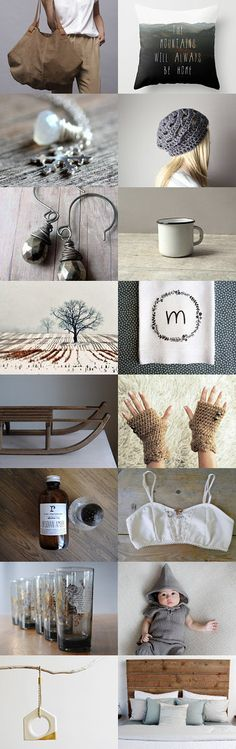 Natural Winter by Vickie Moore on Etsy--