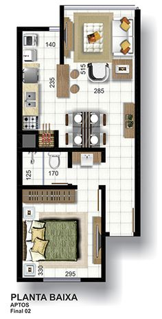 C2B imóveis e Empreendimentos em Lajeado - Edificio Cristiano 115 no bairro Florestal. Apto de 1 dormitorio