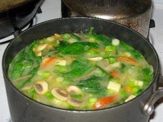 Easy Recipes to Do: Negative Calorie Diet Soup This is really good for you soup!