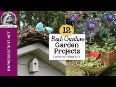 12+ Best Creative Garden Projects of the Year - Empress of Dirt
