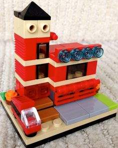 Micro Street: A LEGO® creation by Tyler Durden : MOCpages.com