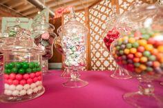 Bliss Weddings & Events Bridal Shower Candy Buffet