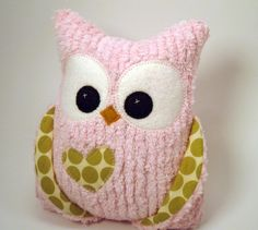 Adorable plush owl toys...I just want to hug them!