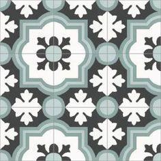 Baldosas hidráulicas | Diseños florales