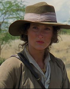 "Meryl Streep - ""Out of Africa"" - 1985.                                                                                                                                                                                 More"