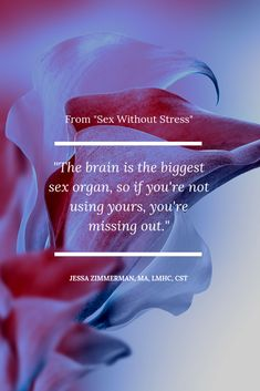 From my book, Sex Without Stress, is the idea that our eroticism is fundamental to great sex. Best Couple, My Books, Disappointment, Stress, Relationship, Sayings, Couples, Movie Posters, Learning