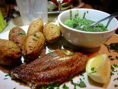 Fish: Cat Fish Dinner with Hush Puppies