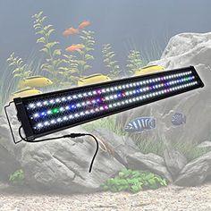 MegaBrand 36-43 Inch 129 LED Aquarium Lighting Fish Tank Light Fixture >>> Want additional info? Click on the image.