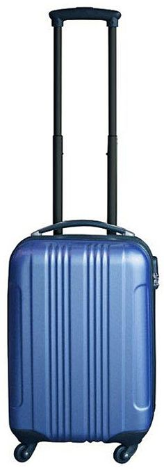 Ceruzo handbagage koffer ABS blauw - http://qwekie.nl/product/ceruzo-handbagage-koffer-abs-blauw/