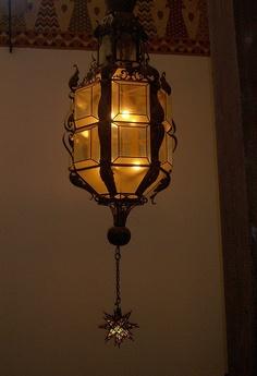 Decorative Arts, Santa Barbara Court House - Interior Lamp by tkksummers, 1929. Spanish Colonial Revival