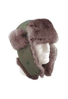 1175fa6b5bd0e Olive Drab Fur Flyers Hat ! Buy Now at gorillasurplus.com Canvas Hat