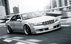 Cadillac Seville STS.  I have this car but it don't look this cool:)