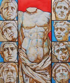 """Heritage""  (paper, aquarelle, acrylic, 60cmx50cm, 2014) #drawing #art #artist #sketch #illustration #draw #pencil #beautiful #masterpiece #sketchbook #picture #acrylic #cute #color #aesthetik #artwork #hellenismus #aquarelle #imperien #krieg #creative #kurbanov #gesichter #arts_gallery #imperium #worldofpencils #arts_help #welt #modern"
