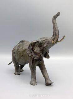 Le courroux - bronze Sophie Gérault - www.sofy-sculptures.net