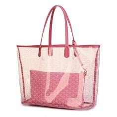 Pink Goyard handbags barneys