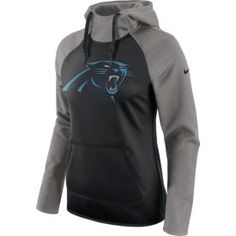 8be4547d1 Nike Women s Carolina Panthers Tailgate All-Time Grey Hoodie