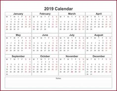 31 best 2019 calendar template in one pages images rh pinterest com