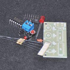DIY Electronic Kit 3 Voting Machine Suite Trousse 74HC00+74HC10 Controller Production Training Accessory Parts Circuits DIY KIT