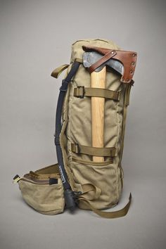 The perfect bug out bag. Internal pockets are made to fit a Ruger 10/22 td, a Marlin papoose or Henry survival rifle