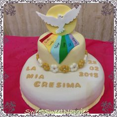 Torta Cresima doni Spirito