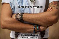 Tamashii bracelet (made in Tibet) versus Mychau bracelet (made in Vietnam)...insieme o separati, a voi la scelta...