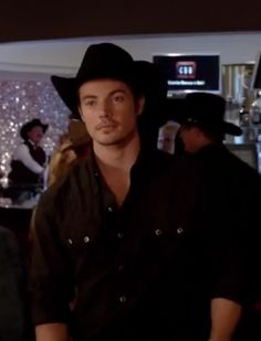 John Ross Ewing III...so hot in his cow boy outfit :)