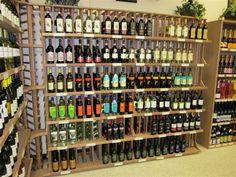 WineRacks.com's mahogany wine racks in Southern Wine & Spirits.