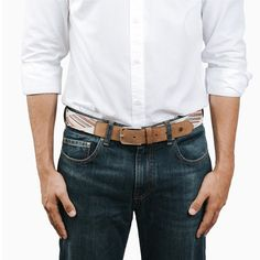 Mens Essential Accessory: The Belt The Tauce belt, is made in Spain from an original fabric full of colors and suede finishes that will give your looks a differentiating touch. You can combine it with jeans, chinos or formal trousers. Blue Hole, Hunter S, Mens Essentials, Must Haves, Highlights, Spain, Trousers, Brand New, Touch