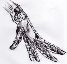 Mechanical hand art - photo#5