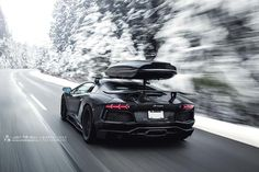 Lamborghini Aventador Project 700 in Snow Mountain, Foto made by Marcel Lech Photography
