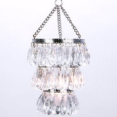 Tealight Chandelier- i'll have it one day