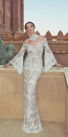 Wedding Dress Designers - Lihi Hod & Oved Cohen ❤ See more: http://www.weddingforward.com/wedding-dress-designers/ #weddings #dress