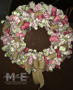 Paper Wreath~Season of Style www.CreateWithME.com Season of Style Designer Series Paper Wreath
