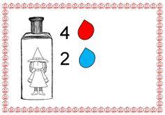 toverdrankjes met pipetjes 3 (met cijfers)