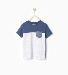 ZARA - KIDS - T-shirt with pocket