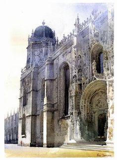 Michal Suffczynski - Jerome Monastery in Lisbon