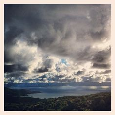 Nuvole sopra Capoliveri, Isola d'Elba, Toscana
