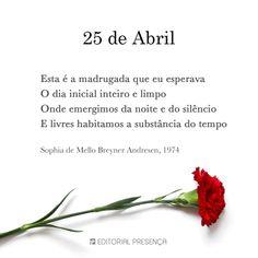 Poema de Sophia de Mello Breyner Andresen, sobre o 25 de abril