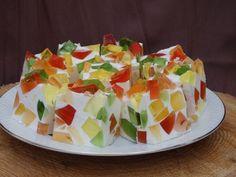 Monia miesza i gotuje Jello Desserts, Jello Recipes, Cake Recipes, Dessert Recipes, Recipies, Polish Recipes, Pastry Cake, Food Cakes, Something Sweet
