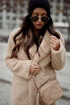 Teddy coat.