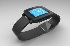 Smartwatches sind das große Thema. Schon länger beschäftigen wir uns mit verschiedenen Konzepten z.B. einem Apple Watch Ständer mit Ladefunktion. Der große Hype um die neue Pebble Time und ihr riesiger Erfolg auf Kickstarter haben uns dazu veranlasst explizit Zubehörkonzepte für die neue Pebble-Time in Leben zu rufen.