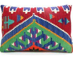 Organic Shine Society Kilim Lumbar Pillow
