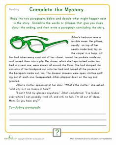 This reading worksheet's a good way for graders to boost vocabulary and spelling, and a great tool to get in shape for standardized testing. Creative Writing Worksheets, Creative Writing For Kids, Reading Worksheets, Grammar Worksheets, 6th Grade Writing, 4th Grade Reading, Writing Skills, Writing Prompts, Writing Posters