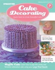 Cake Decorating is a series of best-selling Cake Decorating kits with guides and tools every month that teach you step-by-step how to make inspiring cakes, cupcakes, cake pops and celebratory cakes. Cake Decorating Magazine, Cake Decorating Kits, 7 Cake, No Bake Cake, Cupcakes, Sweet Cakes, Baking Tips, No Bake Desserts, Beautiful Cakes