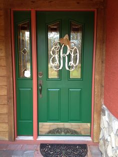 Newly painted front door!