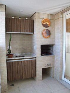 Decor: Varandas Gourmet Kitchen Decor, House Design, Home Decor Kitchen, Interior Deco, Home Pub, Kitchen Design, Outdoor Kitchen, Kitchen Remodel, Home Decor