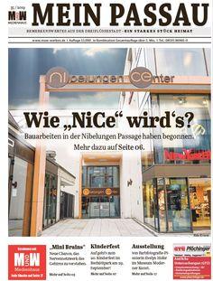 Die Zeitung für die Dreiflüssestadt Passau, River, Newspaper, City