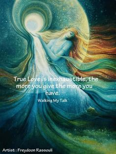 The more love you give, the more you have